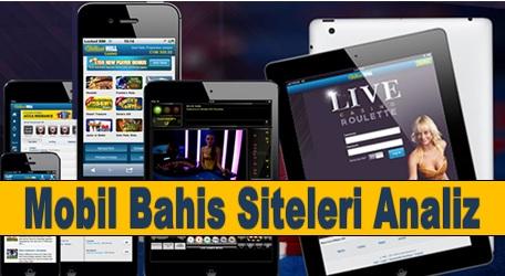 Mobil Bahis Siteleri Analiz