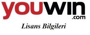 youwin-Lisans-Bilgileri